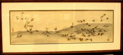 One Hundred Sparrows by Baoxing Zhang
